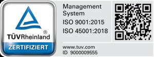 Smart Scope: TÜV Zertifikat